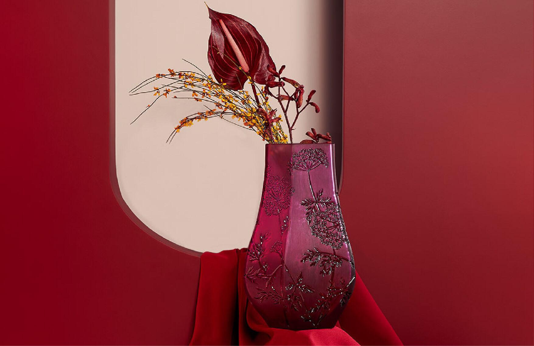 Ombelles Vase by Lalique
