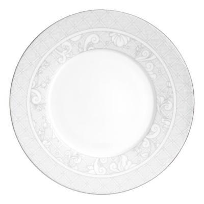 Jardin D'Eden Dorure Partielle Dessert Plate
