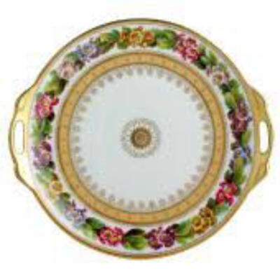 Botanique Cake Plate With Handles
