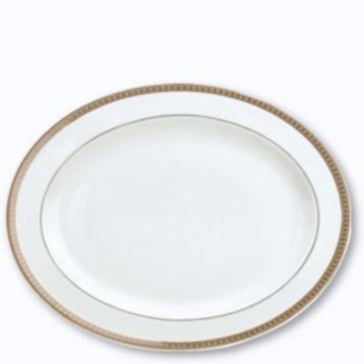 Malmaison Platine Oval Platter