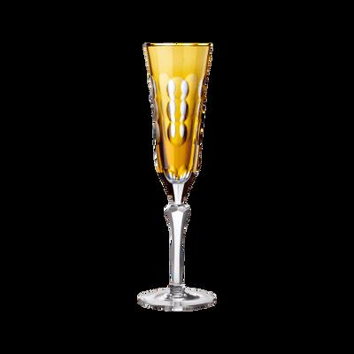 Kawali Amber Champagne Flute