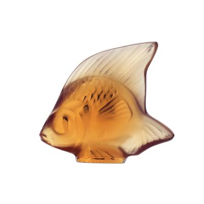 Amber Fish Sculpture