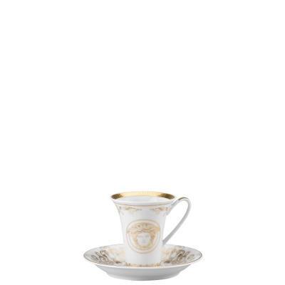 Versace Medusa Gala Gold Cup & Saucer