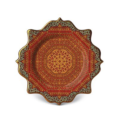 Tabriz Dessert Plates (Set Of 4)