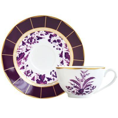 Prunus Tea Cup And Saucer