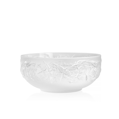 Clear Hirondelles Bowl