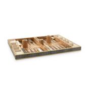 Shagreen Backgammon Set