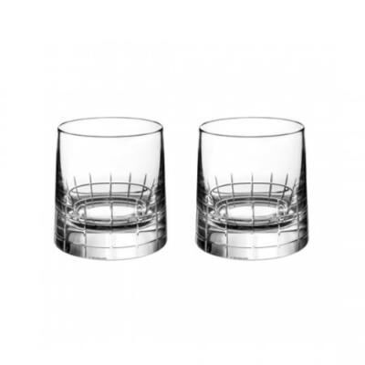 Graphik Set Of 2 Old-Fashioned Glasses