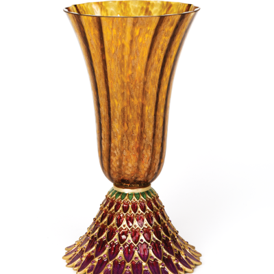 Sabrina Feather Vase