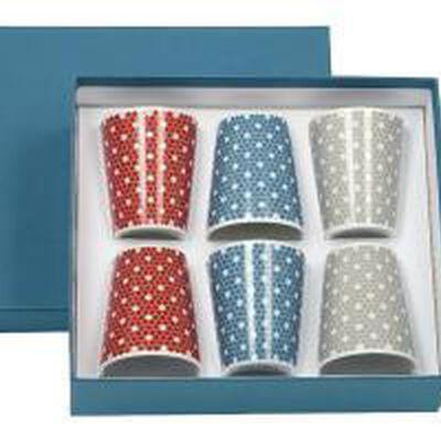 Madison 6 Set Of 6 Porcelain Espresso Cups / Verrines