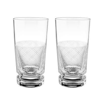 Jardin D'Eden-Set Of 2 Highball Glasses