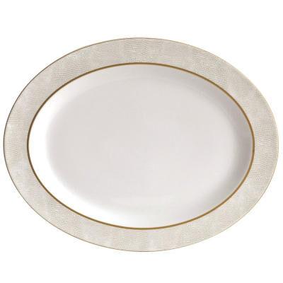 Sauvage Blanc Oval Platter