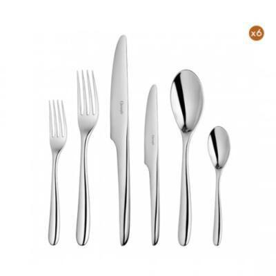 L'Ame De Christofle 36-Piece Stainless Steel Flatware Set