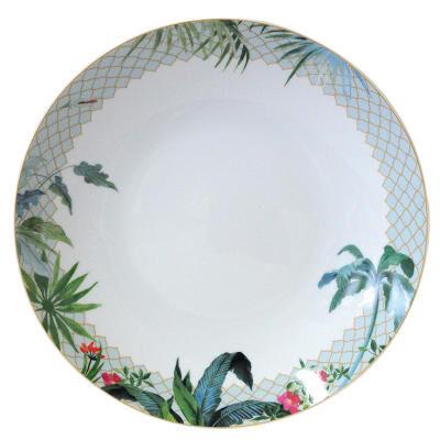 Tropiques Deep Round Dish