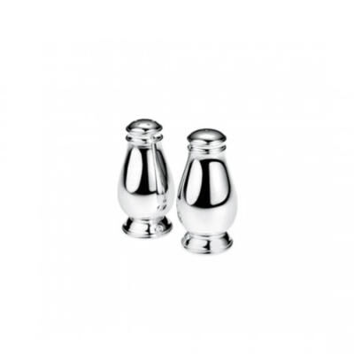 Albi Silver Plated Salt And Pepper