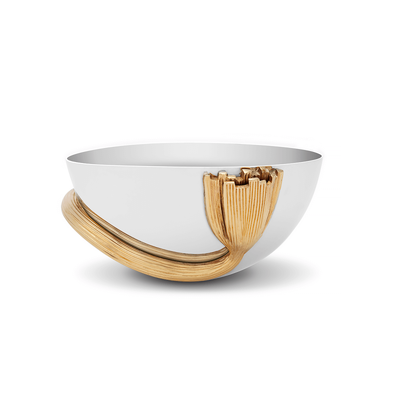Deco Leaves Bowl