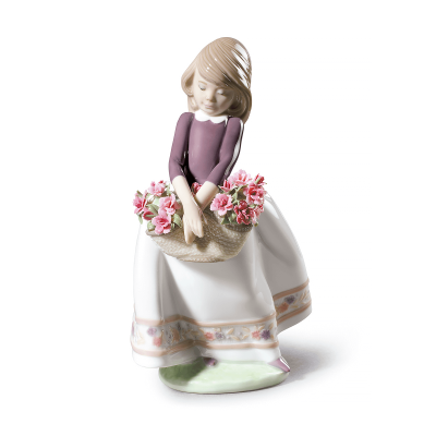 May Flowers Girl Figurine - Special Edition