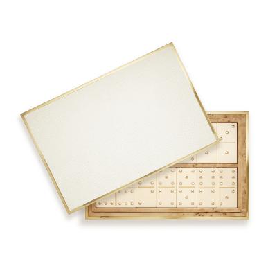 Shagreen Domino Set