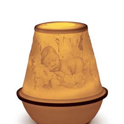 Lithophane Votive Light - New Baby