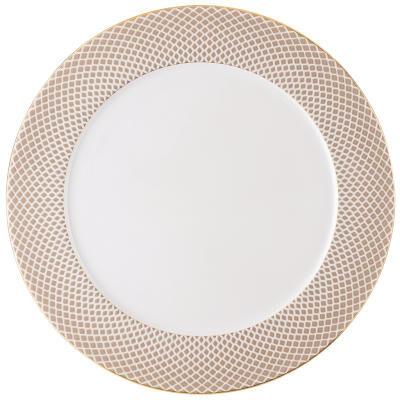 Francis Carreau Beige Service Plate