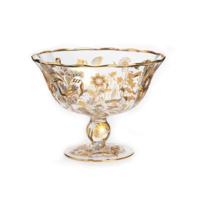 Entertaining Adriana Floral Vine Bowl