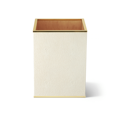 Shagreen Waste Basket