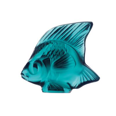 Turquoise Blu Fish Sculpture