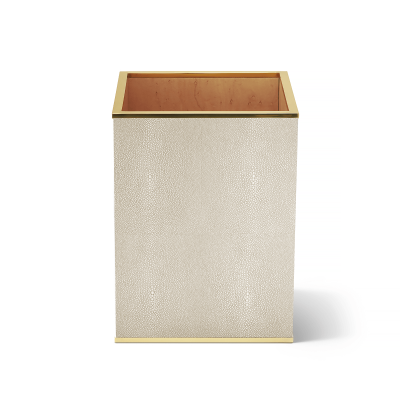 Shagreen Waste Basket