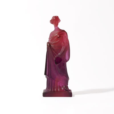 40th Ruby Tanagra Greek Statuette