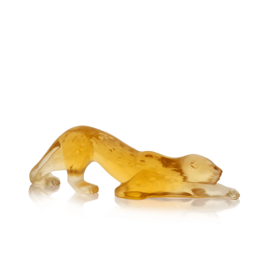 Amber Languedoc Zeila Panther Figure