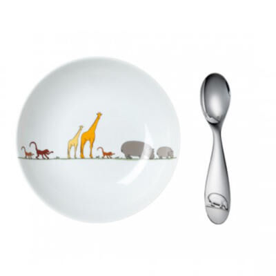 Savane-Baby Cereal Bowl And Spoon Set