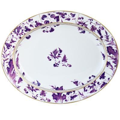 Prunus Oval Platter