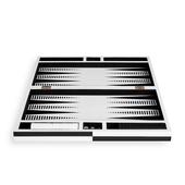 OP Art Lacquer Backgammon