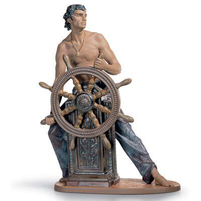 Stormy Sea Sailor Figurine