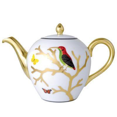 Aux Oiseaux Tea Pot
