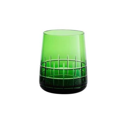 Graphik Green Water Glass