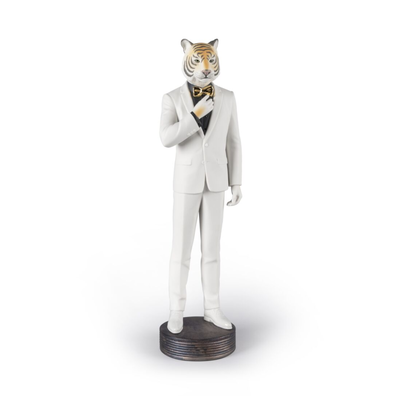 Tiger Man Figurine