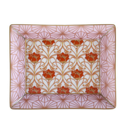 Abfab Rose Rectangular Tray