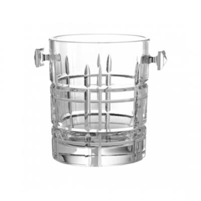 Scottish-Crystal Ice Bucket