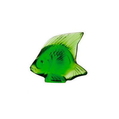Green Blu Fish Sculpture