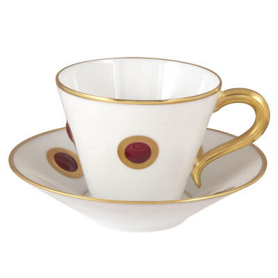 Ithaque Garance Espresso Cup And Saucer