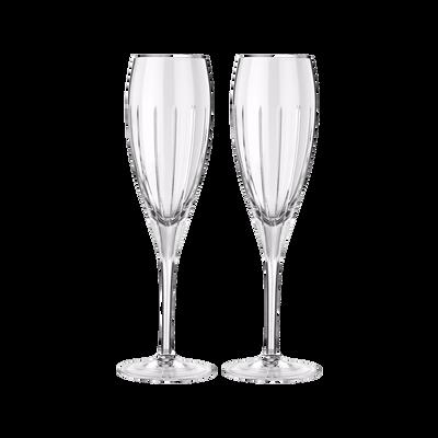 Iriana Set Of 2 Champagne Flutes