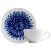 IN BLOOM TEA CUP AND SAUCER
