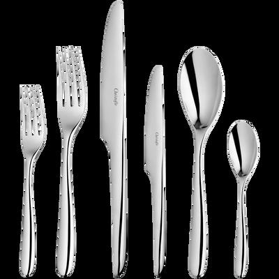 L'Ame De Christofle  Flatware Set For 12 People (75 Pieces)
