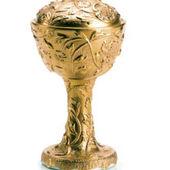 Taormina incense burner gold