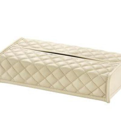 Quilted Padded Tissue Box Cover