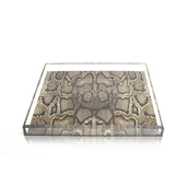 Snake Accent Tray