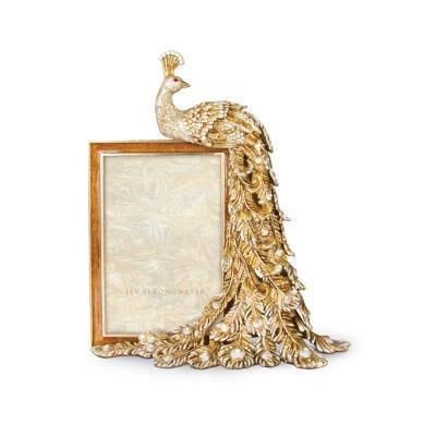 Alexi Peacock Figurine Frame