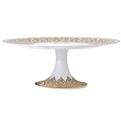 Venise Footed Cake Platter