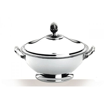 Malmaison Silver Plated Soup Tureen With Lid